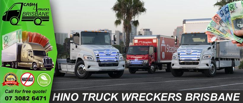 Hino Truck Wreckers Brisbane