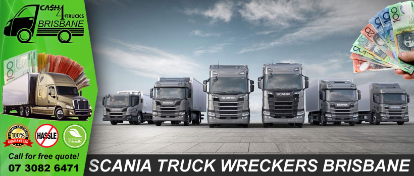 Scania Truck Wreckers Brisbane