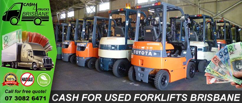 Cash For Used Forklifts Brisbane