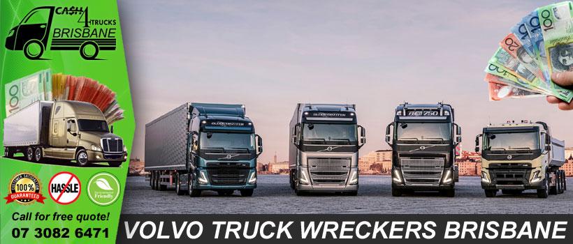 Volvo Truck Wreckers Brisbane